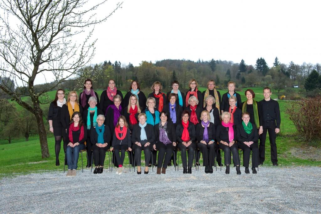 Der Frauenprojektchor 2013